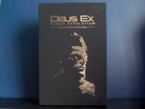 Unboxing Deus Ex Human Revolution Collector Edition + guide officiel collector (Euro version)