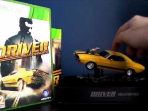 Unboxing Driver San Francisco Collector Edition (Euro Version)