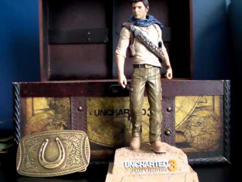 Unboxing Uncharted 3 Drake's Deception Explorer Edition (EURO Version)