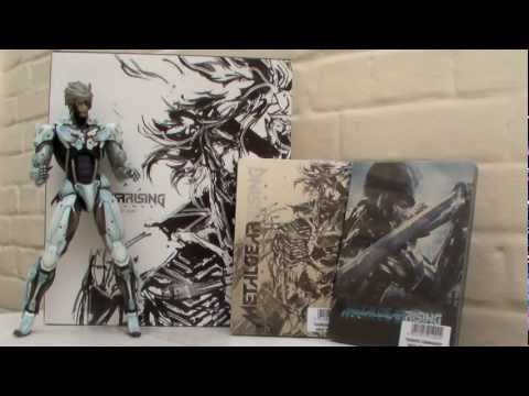 Unboxing : Metal Gear Rising Revengeance Limited Edtion (EURO Version)