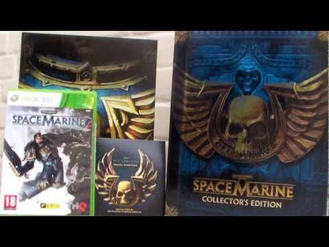 Unboxing : Warhammer 40000 Space Marine Edition Collector (EURO Version)