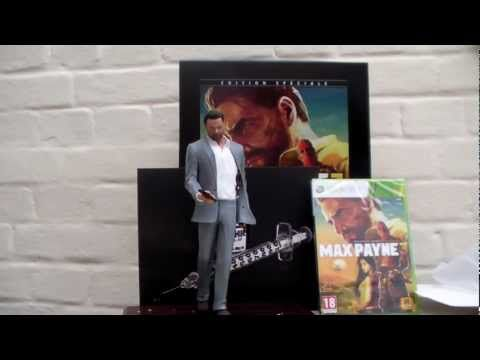 Unboxing : Max Payne 3 Edition Spéciale (EURO Version)
