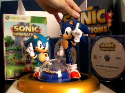 Unboxing Sonic Generations Edition Collector (EURO version)