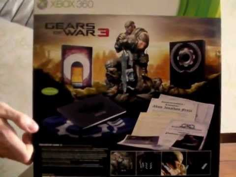 Unboxing Gears of War 3 EPIC Edition (Euro Version)