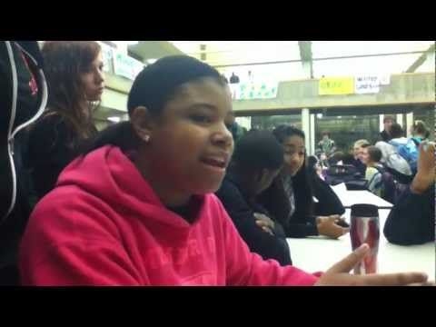 Girl rapping makes boy choke: Rap battle:...