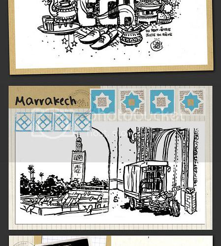 Carnet de Marrakech II
