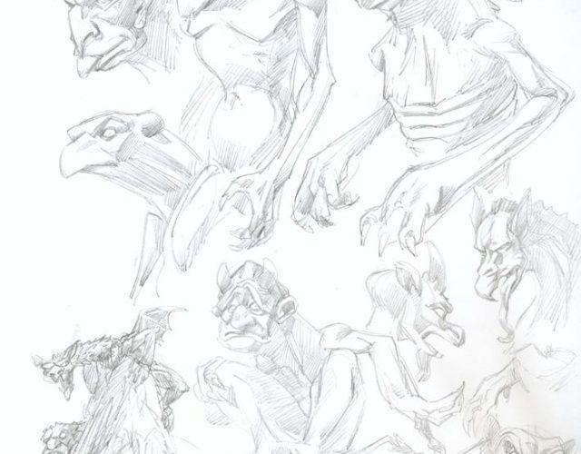 Les trésors de la Légende dorée [4] : Recherches de créatures de l'enfer