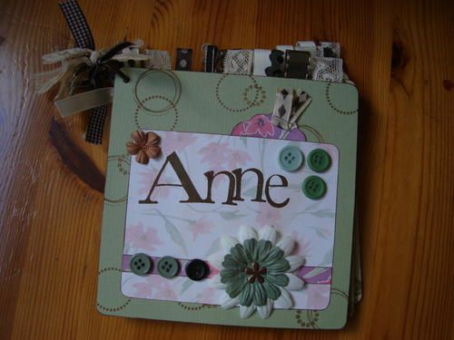 Mini-album Anne