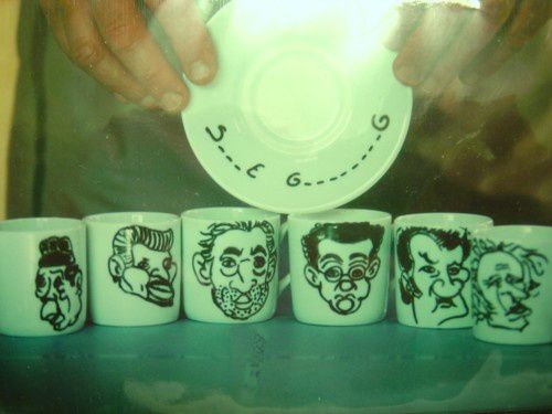 Tasses caricatures