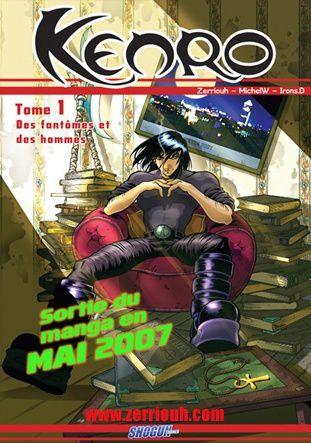 Un auteur de manga nous écrit....