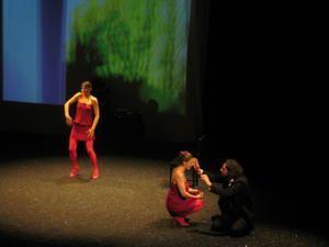 Vidéo d'EXIL, prise de vue du printemps des poètes 2008