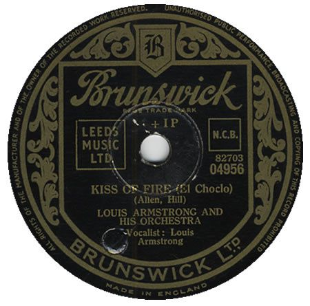 """Louis Armstrong - """"Kiss of fire"""""""