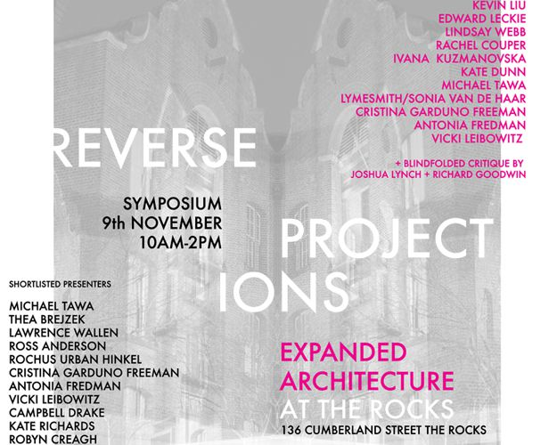 "EXHIBITION / ""EXPANDED ARCHITECTURE AT THE ROCKS 2013"" - NOVEMBER 8 TH 2013 / SYDNEY"