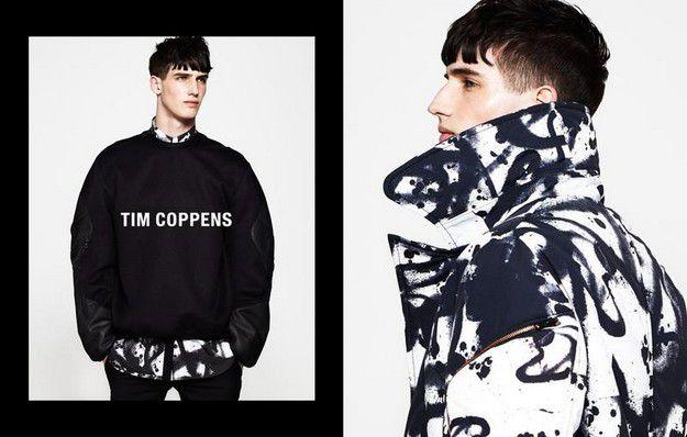 TIM COPPENS - FALL WINTER 2013 / MENSWEAR AD CAMPAIGN