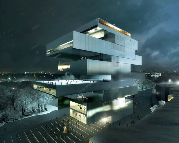 "HENEGHAN PENG ARCHITECTURE / PROJECT WINNER FOR ""THE NATIONAL CENTER FOR CONTEMPORARY ART"" / NEW NCCA IN MOSCOW /"