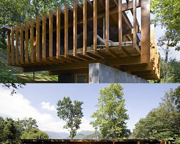 WOOD HOUSE IN CANICADA #02 IN GERES - PORTUGAL / PROJECT BY ARQUIPORTO ARCHITECTURE STUDIO