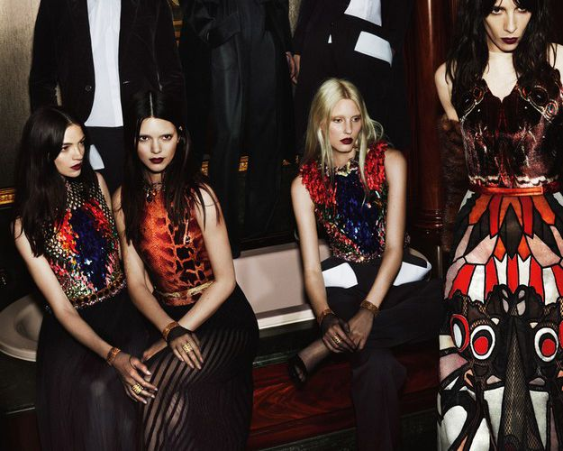 GIVENCHY - AW 14/15 AD CAMPAIGN BY MERT ALAS & MARCUS PIGGOTT