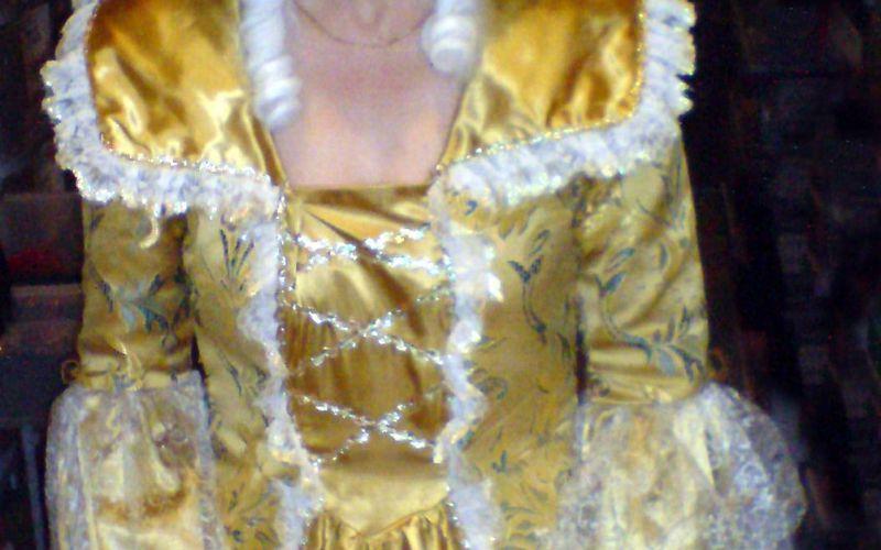Les costumes Grand Siècle pour Nicoletta et Maurizio