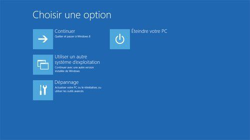 Cctiver le mode sans echec Windows 8.1 ?