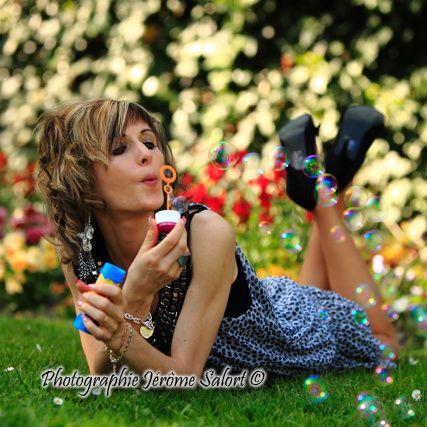 Shooting glamour avec Sandrine
