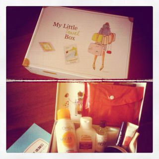 My little box - Juillet: beauty, sea and sun