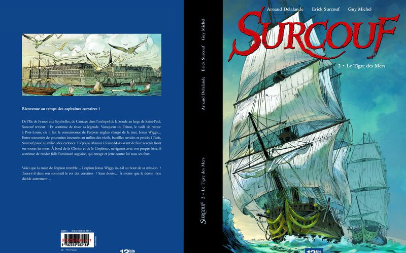 BD SURCOUF TOME 2 - COUV EDITION LUXE