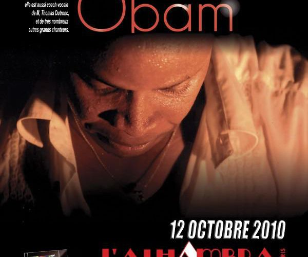 Billy Obam - 12 octobre 2010 à l'Alhambra de Paris