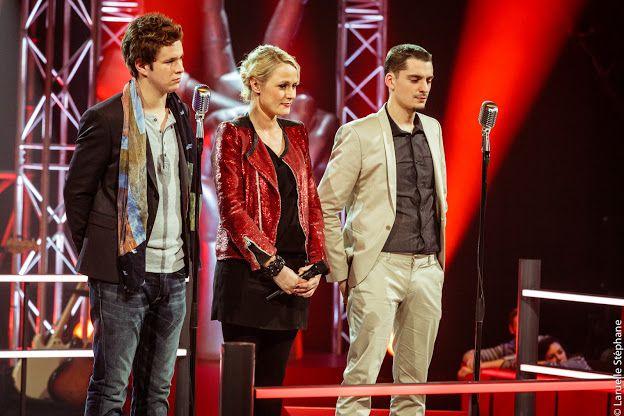 """The Voice Belgique 2 - le duo Cyriaque vs David - dans le mythique """"La nuit"""" d'Adamo"""