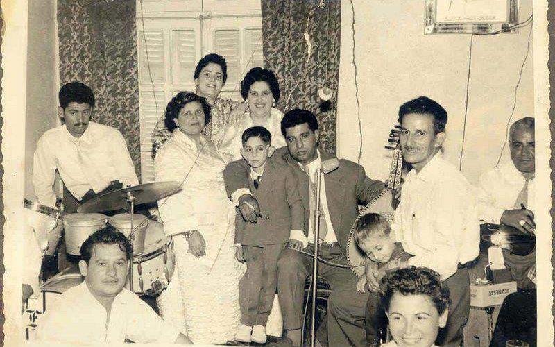 Albert Suissa en 1957