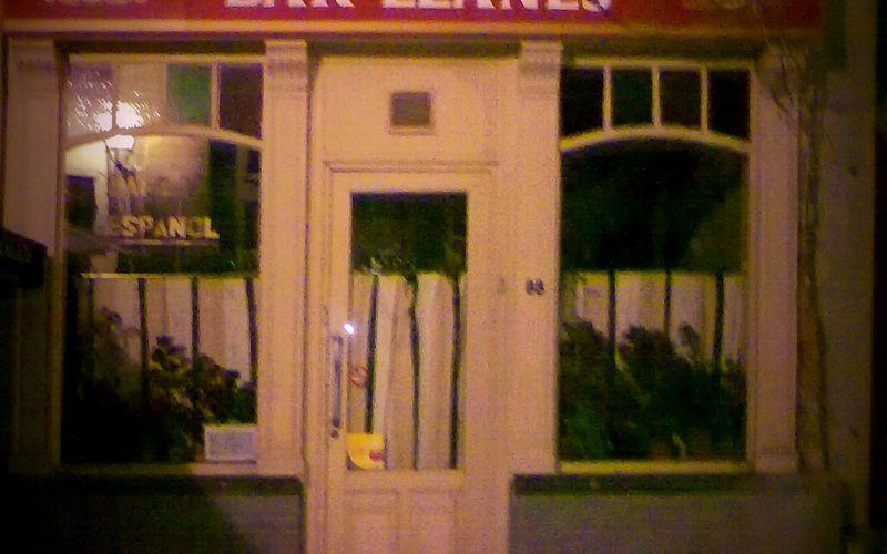 Bar Llanes, cafe español à Bruxelles