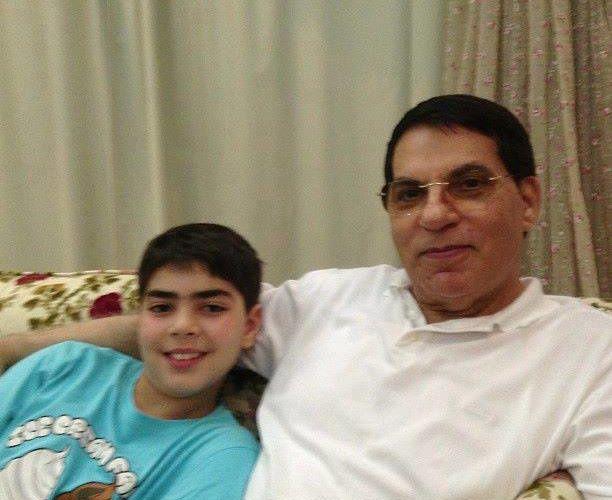 La dernière photo publiée de Zine el-Abidine Ben Ali