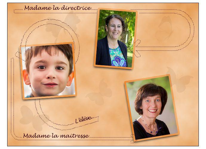[Photos] La directrice, la maitresse et l'élève...