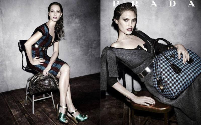 PRADA - FALL WINTER 2013 / AD CAMPAIGN PHOTOGRAPHED BY STEVEN MEISEL /