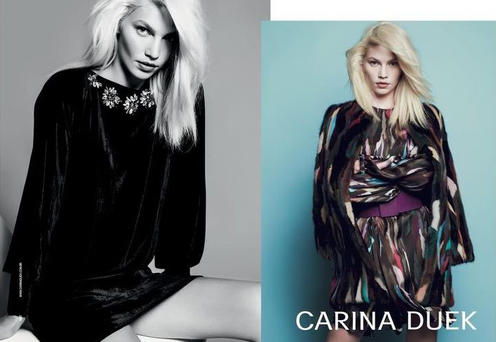 CARINA DUEK - FALL/WINTER 2014 AD CAMPAIGN / WITH ALINE WEBER PHOTOGRAPHED BY JR DURAN