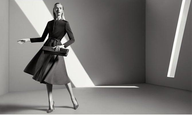 GIADA - FALL WINTER 14 AD CAMPAIGN / WITH DARIA STROKOUS BY INEZ & VINOODH