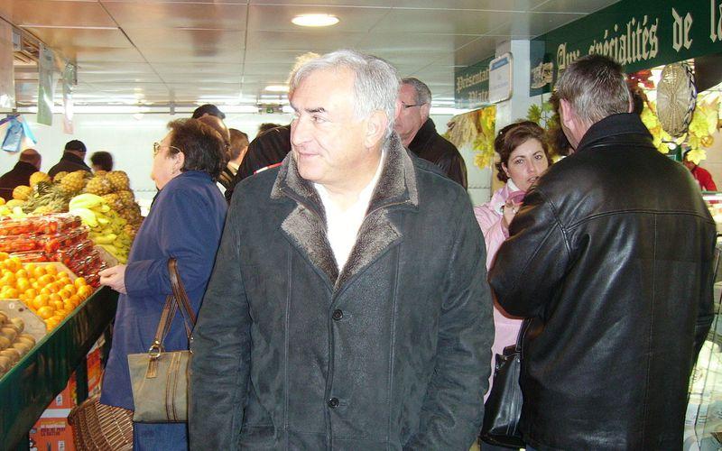 Insolente présence de Dominique Strauss-Kahn présent au Festival de Cannes.