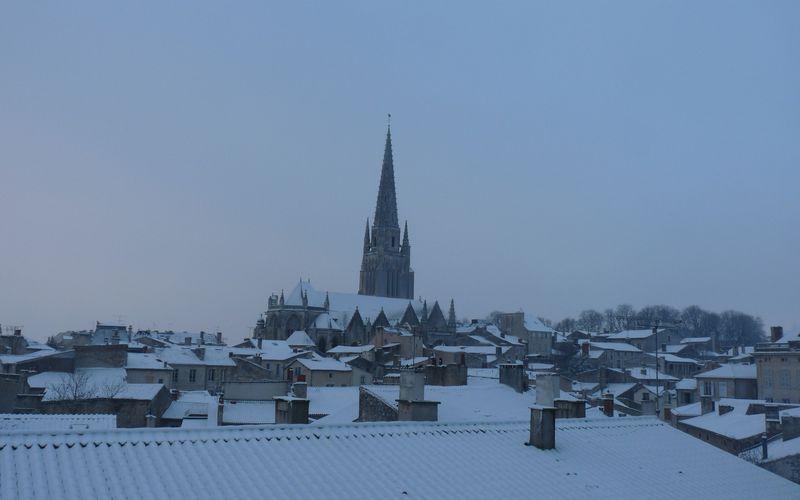 Fontenay s'est réveillé sous la neige...