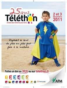 Téléthon 2011 à Fontenay le Comte : week-end solidaire !