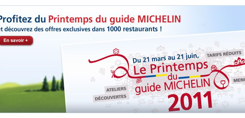 Le printemps du guide Michelin 2011