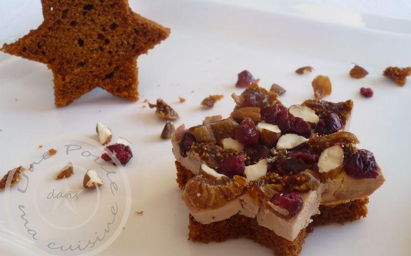 Foie gras gourmand au pain d'épices maison