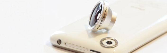 Fisheye pour Iphone et Smartphone