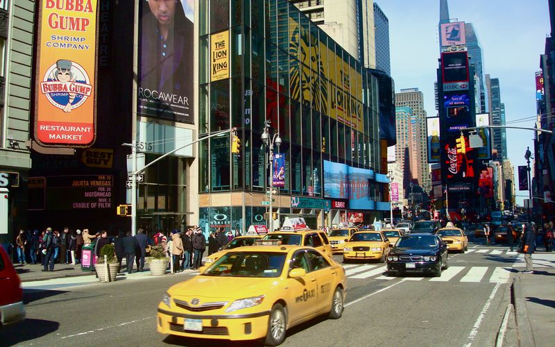 Visiter Times Square New York