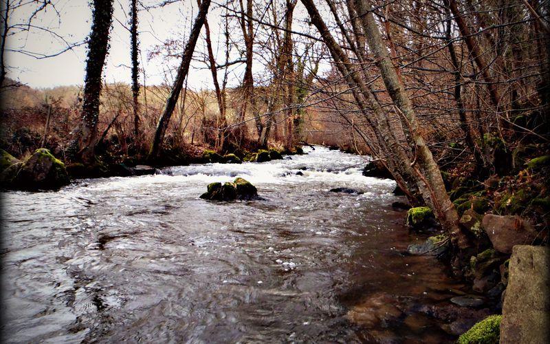 """Ouverture 2013 """"gros débits sur les rivières auvergnates""""."""
