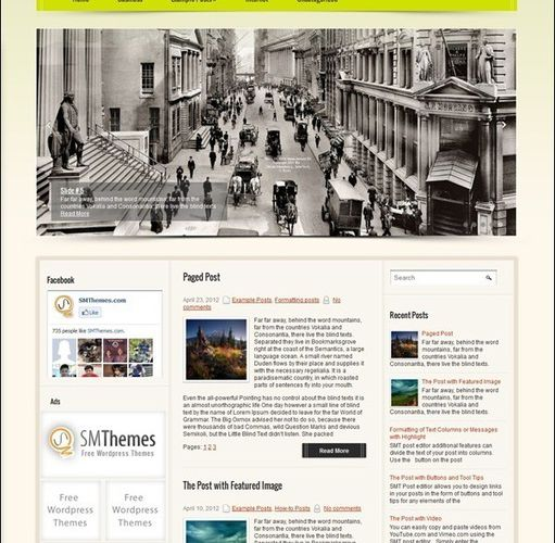 45+ Best Free WordPress Themes for Mobile Friendly...