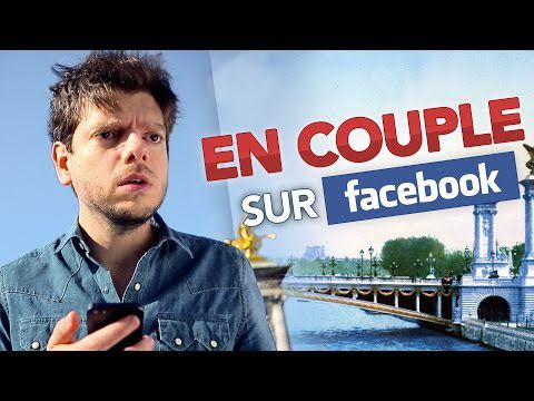 En couple sur Facebook: confirmation !