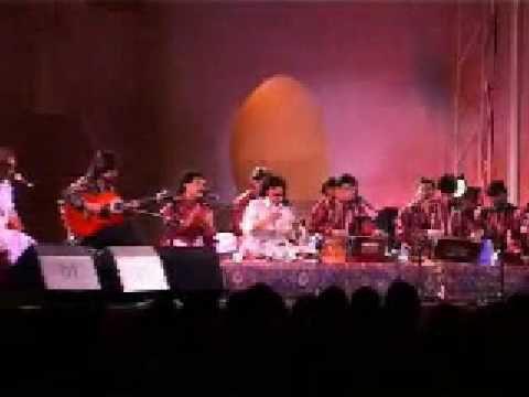 métissage musical d'une chanson espagnole et indo-pakistanaise