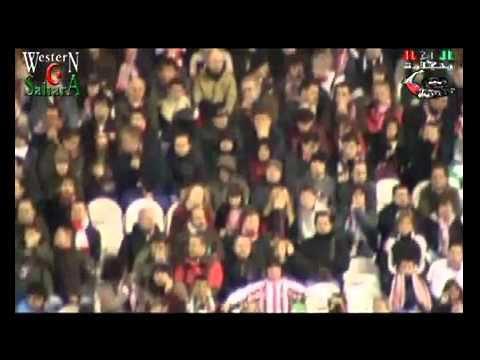Quand le drapeau de la République Sahraouie flottait dans le stade de Atletico Bilbao