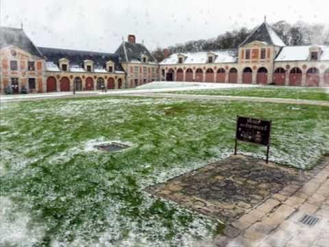 Le Noël de Vaux le Vicomte Les jardins