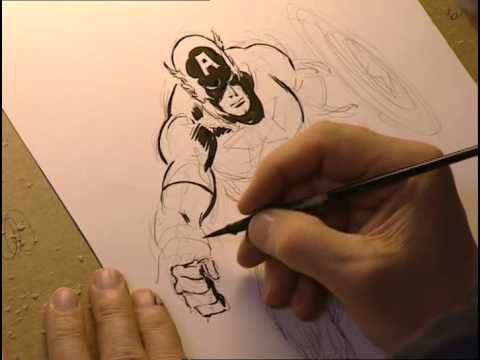 Drawing Superheroes