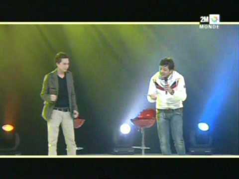 Mohamed Cherabi et Hatim Ammor à Ajial